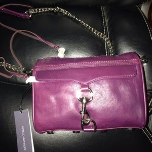 Rebecca Minkoff Mini Mac Plum BRAND NEW WITH TAGS
